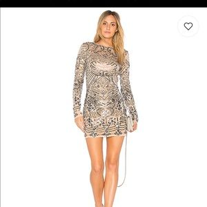 Revolve Sequin Party Dress